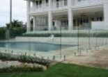 Frameless glass Rural Fencing