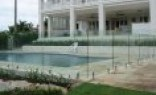 Rural Fencing Frameless glass
