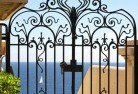 Aubigny Wrought iron fencing 13