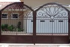 Aubigny Wrought iron fencing 2